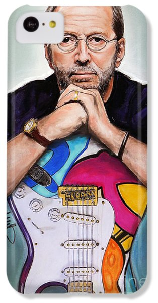Eric Clapton iPhone 5c Case - Eric Clapton by Melanie D