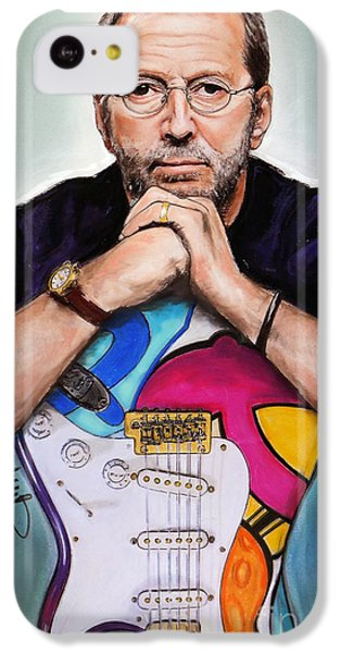 Eric Clapton IPhone 5c Case by Melanie D