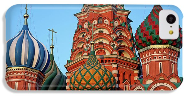 Europe, Russia, Moscow IPhone 5c Case by Kymri Wilt