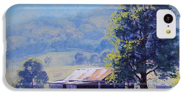 Rural Scenes iPhone 5c Case - Farm Shed by Graham Gercken