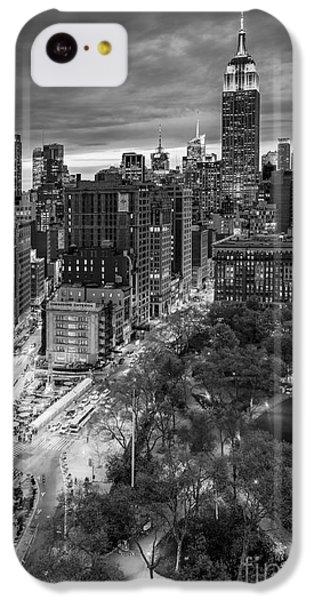 Empire State Building iPhone 5c Case - Flatiron District Birds Eye View by Susan Candelario