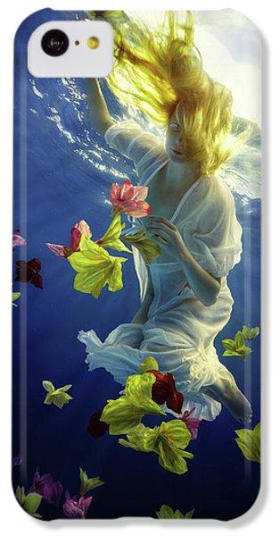 Flow iPhone 5c Case - Flower Fantasy by Dmitry Laudin