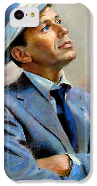 Frank Sinatra  IPhone 5c Case by Ylli Haruni
