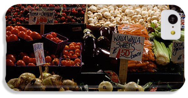 Fruits And Vegetables At A Market IPhone 5c Case by Panoramic Images