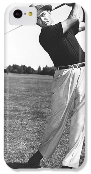 Golfer Sam Snead IPhone 5c Case by Underwood Archives