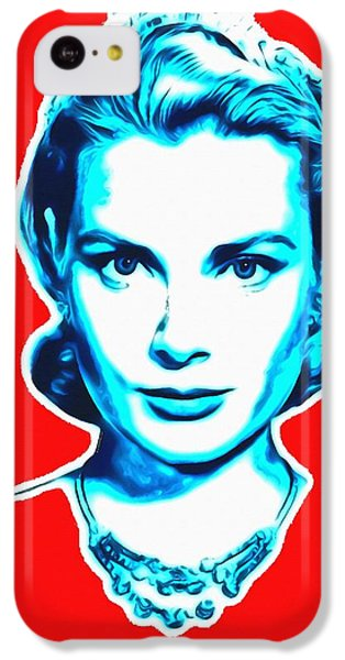 Grace Kelly IPhone 5c Case by Art Cinema Gallery