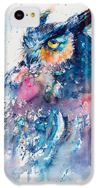 Great Horned Owl IPhone 5c Case by Kovacs Anna Brigitta