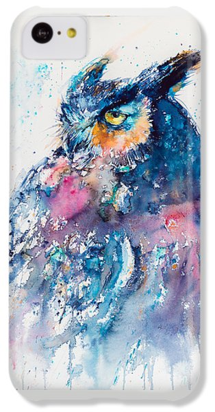 Great Horned Owl IPhone 5c Case
