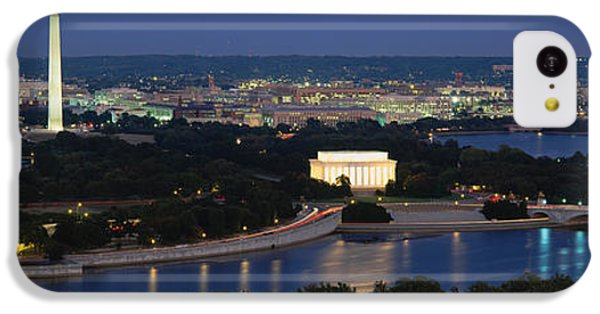 Capitol Building iPhone 5c Case - High Angle View Of A City, Washington by Panoramic Images