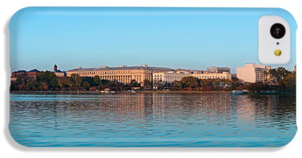 Jefferson Memorial And Washington IPhone 5c Case by Panoramic Images