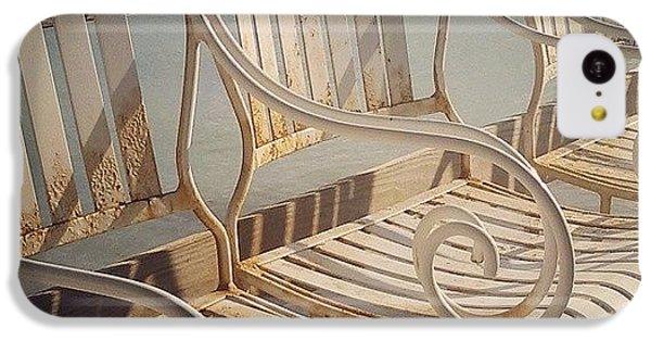 Decorative iPhone 5c Case - Beach Bar Chairs by Dani Hoy