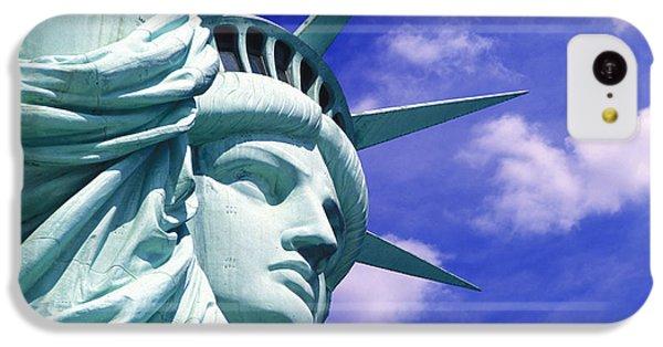 Lady Liberty IPhone 5c Case by Jon Neidert