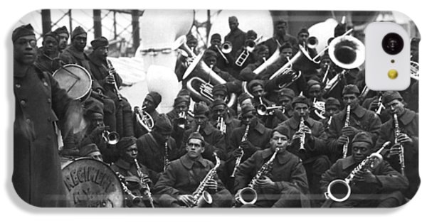 Harlem iPhone 5c Case - Lt. James Reese Europe's Band by Underwood Archives