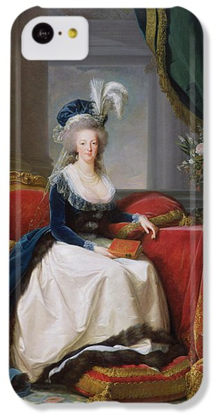 Marie Antoinette IPhone 5c Case by Elisabeth Louise Vigee-Lebrun