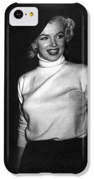 Marilyn Monroe In Korea IPhone 5c Case by Underwood Archives