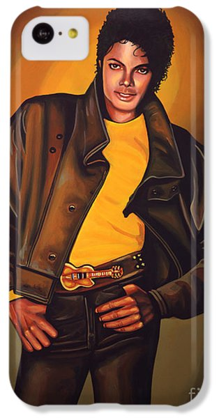 Michael Jackson IPhone 5c Case by Paul Meijering