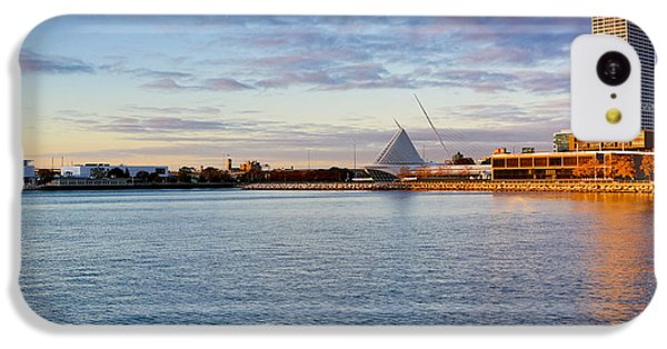 IPhone 5c Case featuring the photograph Milwaukee At Sunrise by Ricky L Jones