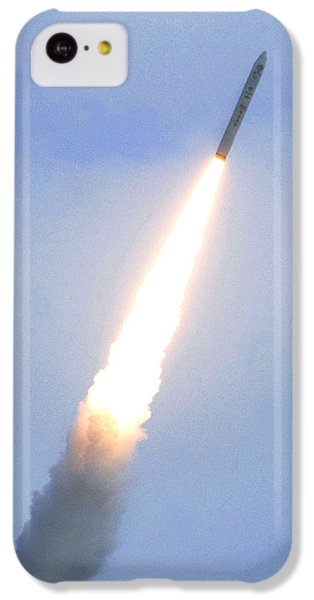 Minotaur Iv Lite Launch IPhone 5c Case by Science Source