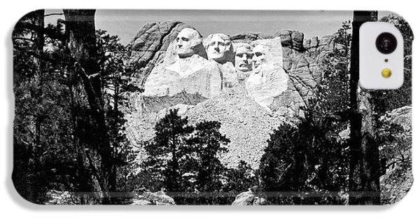 Mount Rushmore In South Dakota IPhone 5c Case by Underwood Archives