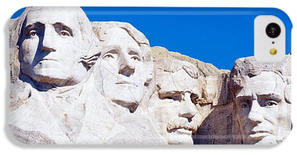 Mount Rushmore, South Dakota, Usa IPhone 5c Case by Panoramic Images