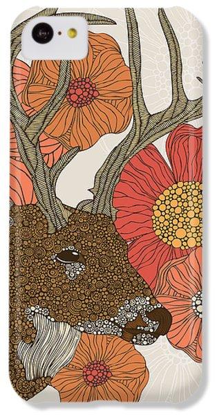 Deer iPhone 5c Case - My Dear Deer by Valentina Ramos