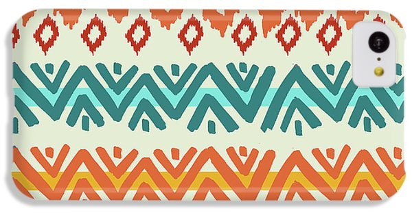 Navajo Mission Round IPhone 5c Case by Nicholas Biscardi