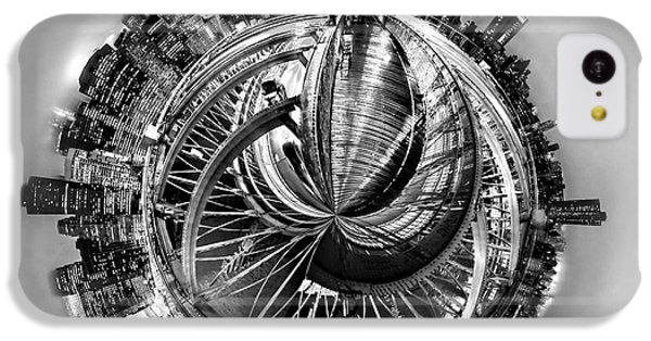 Brooklyn Bridge iPhone 5c Case - Manhattan World by Az Jackson
