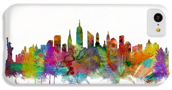 New York City Skyline IPhone 5c Case