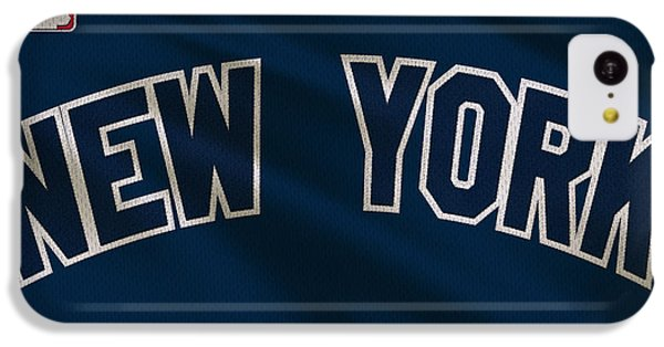 New York Yankees Uniform IPhone 5c Case by Joe Hamilton
