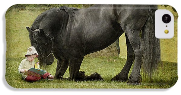 Horse iPhone 5c Case - Once Upon A Time by Fran J Scott