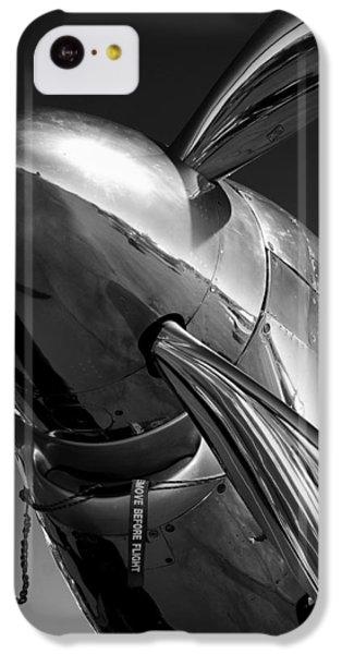 White iPhone 5c Case - P-51 Mustang by John Hamlon
