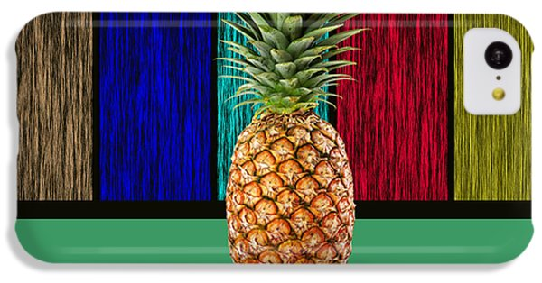 Pineapple IPhone 5c Case by Marvin Blaine