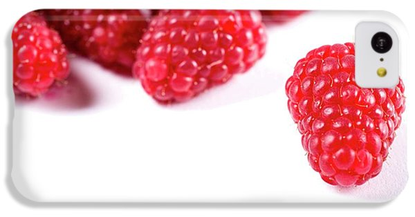 Raspberries IPhone 5c Case by Aberration Films Ltd