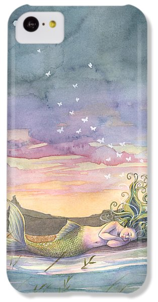Rest On The Horizon IPhone 5c Case by Sara Burrier