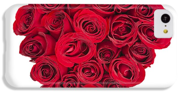 Valentines Day iPhone 5c Case - Rose Heart by Elena Elisseeva