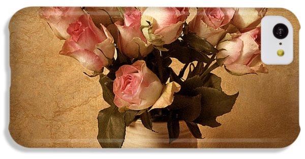 Rose iPhone 5c Case - Soft Spoken by Jessica Jenney