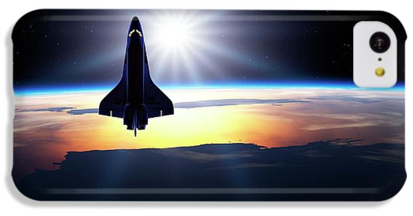 Space Shuttle In Orbit IPhone 5c Case