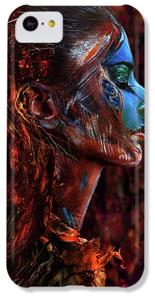 Fairy iPhone 5c Case - Spirit Of The Wood by Ivan Kovalev