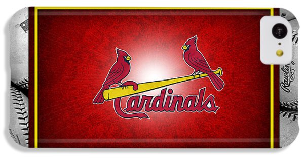St Louis Cardinals IPhone 5c Case by Joe Hamilton