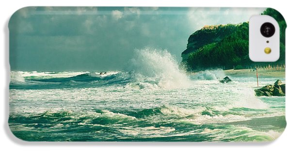 Stormy Sea IPhone 5c Case by Silvia Ganora