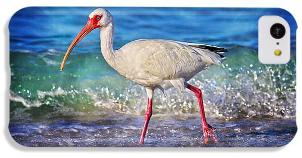 Ibis iPhone 5c Case - Strolling by Betsy Knapp