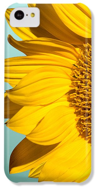 Sunflower iPhone 5c Case - Sunflower by Mark Ashkenazi