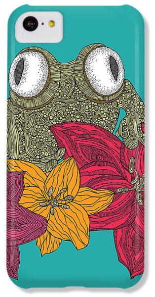 The Frog IPhone 5c Case by Valentina Ramos
