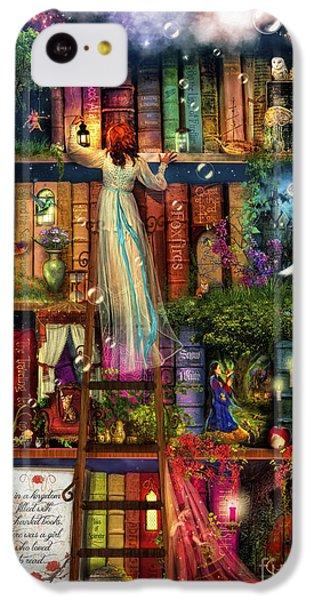 Treasure Hunt Book Shelf IPhone 5c Case by Aimee Stewart