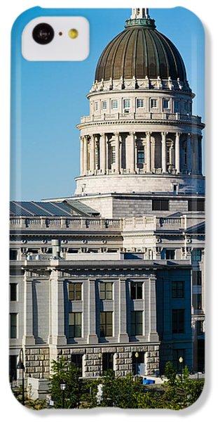 Utah State Capitol Building, Salt Lake IPhone 5c Case by Panoramic Images