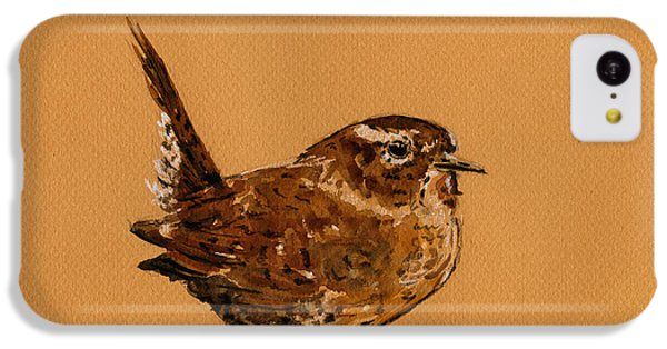 Wren Bird IPhone 5c Case by Juan  Bosco