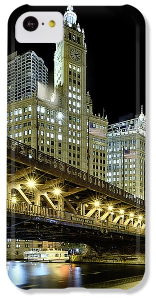 Wrigley Building At Night IPhone 5c Case