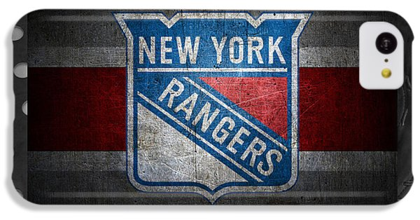 New York Rangers IPhone 5c Case by Joe Hamilton