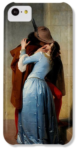 Valentines Day iPhone 5c Case - The Kiss by Francesco Hayez