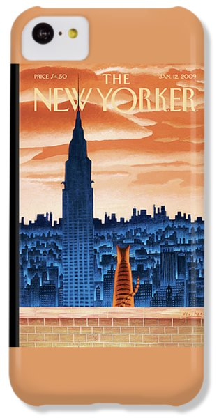 New Yorker January 12th, 2009 IPhone 5c Case